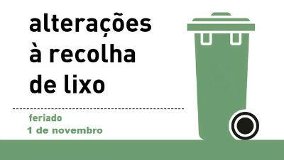 Recolha do lixo | 1 de novembro