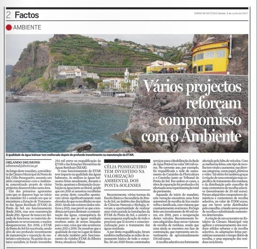 Compromisso com o Ambiente na Ponta do Sol