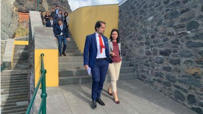 Visita do Presidente do Governo Regional