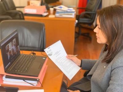 Reunião Ordinária da AMRAM através de vídeo conferência