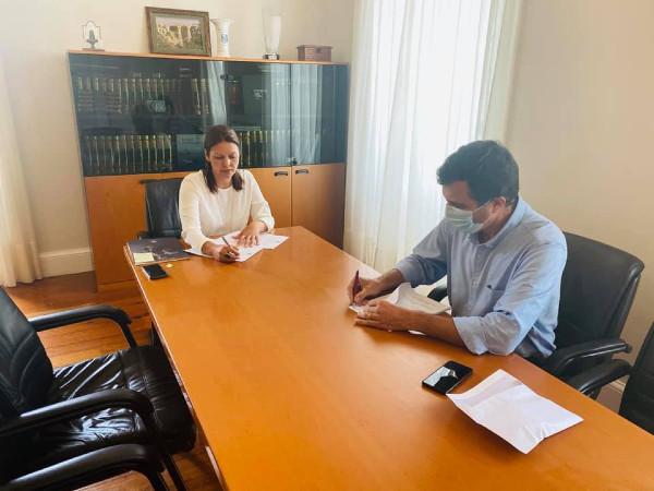 Contrato interadministrativo com a Junta dos Canhas