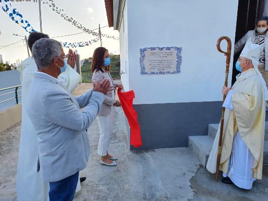 Inauguração das obras de restauro da Capela de São João - Paróquia de Cristo Rei