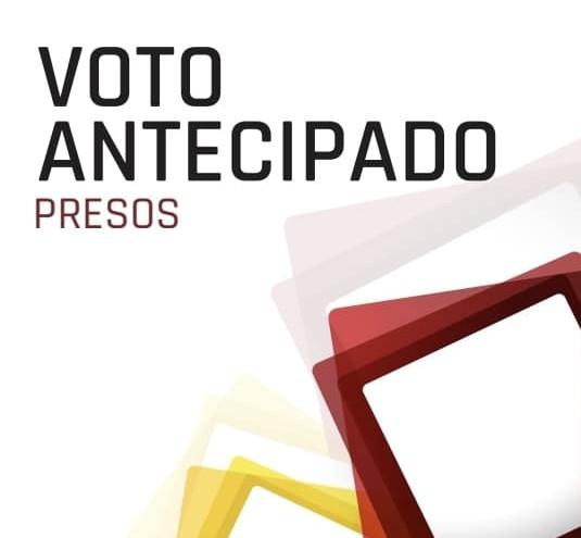 Voto antecipado - Detidos