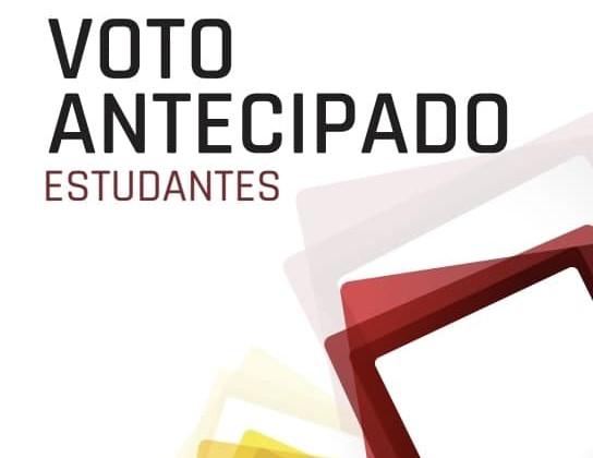 Voto antecipado - Estudantes
