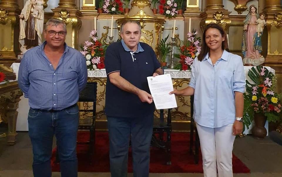Protocolo para a reparação integral do piso do adro da igreja da Paróquia de N.S. da Piedade
