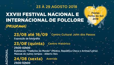 Programa da Semana da Arte e Cultura Popular 2018