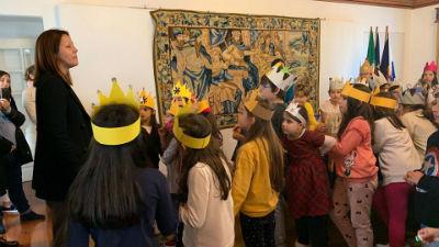 Cantar dos Reis na Câmara da Ponta do Sol