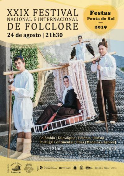 XXIX Edição do Festival de Folclore: Festas Ponta do Sol 2019