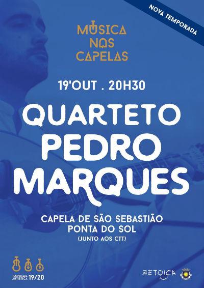 Música nas Capelas | Quarteto Pedro Marques