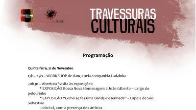 Travessuras Culturais | Festival pluridisciplinar e interativo