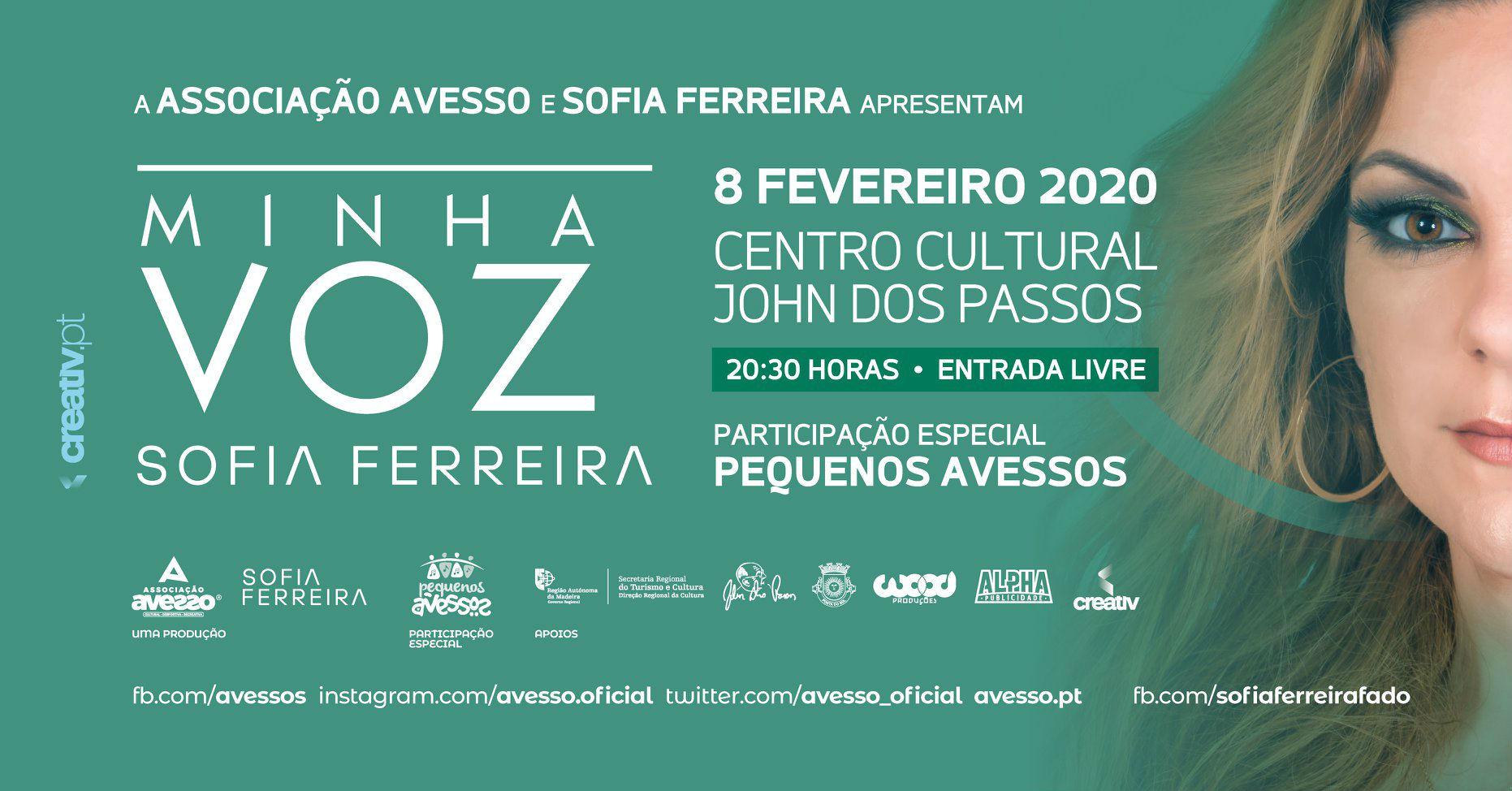 MINHA VOZ | com a fadista Sofia Ferreira