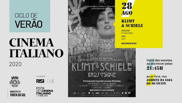 Ciclo de Verão com Klimt & Schiele – Eros & Psique