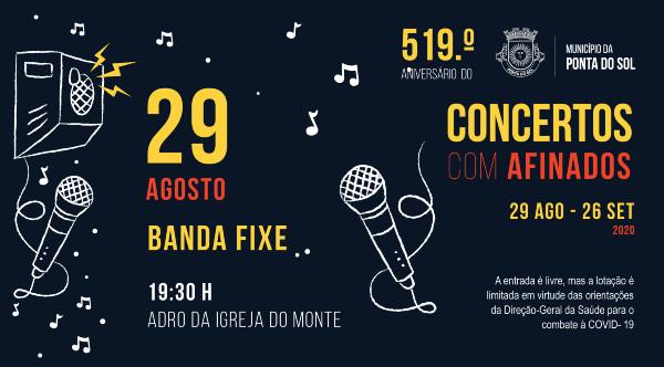 Concertos Com - AFINADOS | 29 de agosto a 26 de setembro