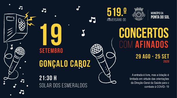 Concertos Com - AFINADOS | Gonçalo Caboz
