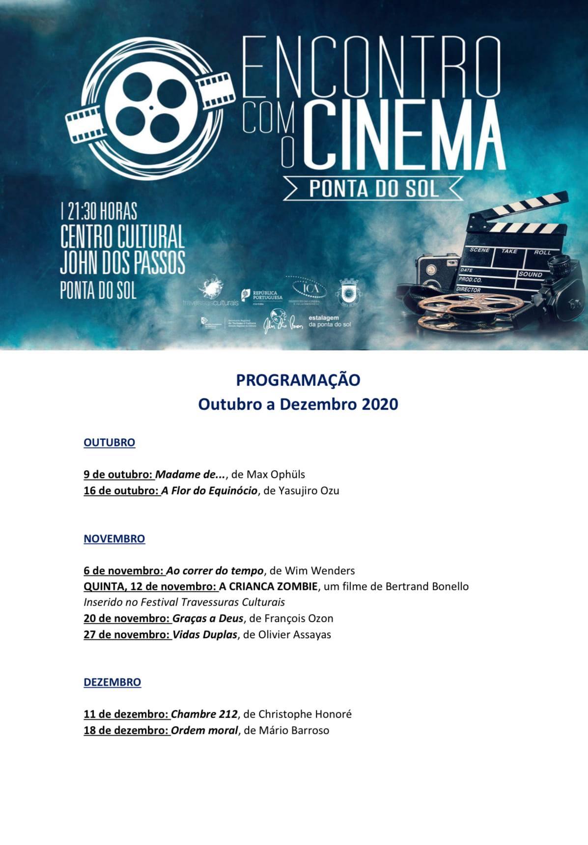 Encontro com o cinema | regressa à Ponta do Sol