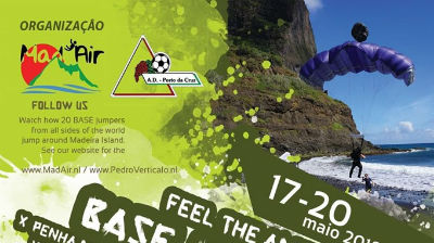 Base Jump na freguesia dos Canhas: desporto radical