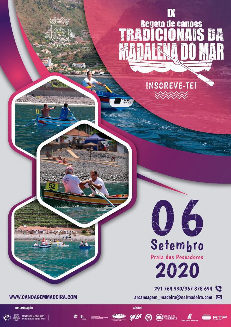 9.ª Edição da Regata de Canoas Tradicionais da Madalena do Mar