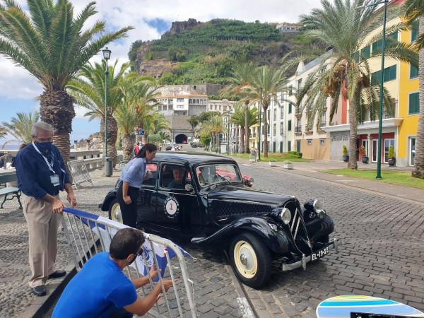 Partida da vila da Ponta do Sol do II Rally Oeste