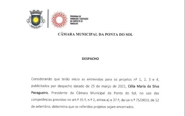 Encerramento dos projetos 1, 2, 3 e 4 | Programa Municipal de Formação e Ocupação