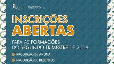 Formações na Escola Agrícola da Madeira