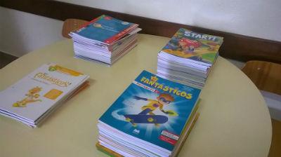 Manuais escolares grátis até o 12.º ano nas escolas da Ponta do Sol