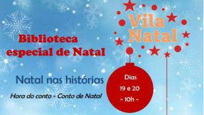 Biblioteca Especial de Natal na Ponta do Sol - Inscrições
