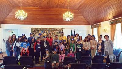 Alunos de Erasmus recebidos na Ponta do Sol