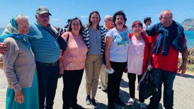 Passeio ao Porto Santo: avós e netos em envolvência intergeracional
