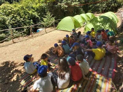 Campo de Férias da Ponta do Sol: a semana do acampamento
