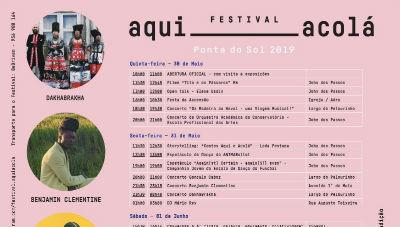 Festival Aqui Acolá: o programa