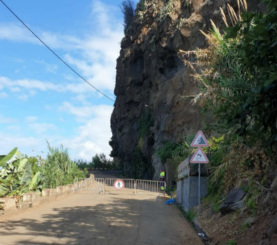 Estrada dos Anjos | relatório técnico