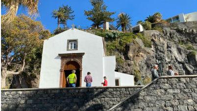 Capela de Santo António | visita aos trabalhos de recuperação