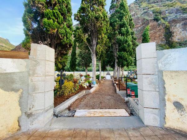 Cemitério Municipal da Madalena do Mar | trabalhos de beneficiação