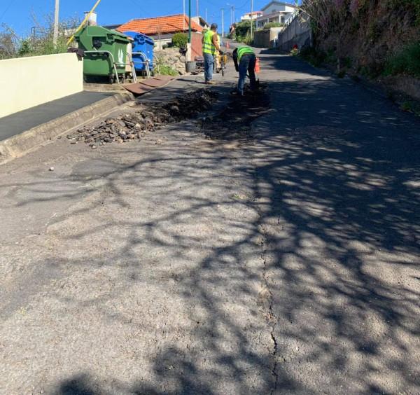 Reparação do Caminho do Lombo nos Canhas