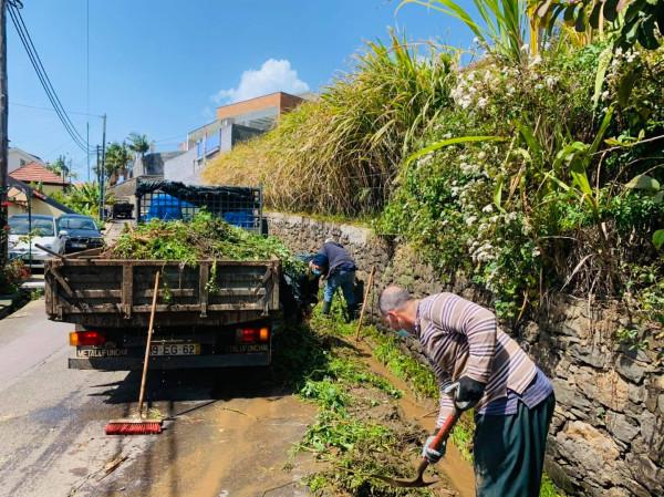 Limpeza e desobstrução de levadas | obrigada aos trabalhadores
