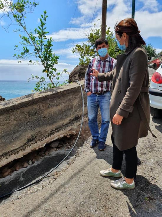 Caminho da Floricultura | substituição da rede de água potável