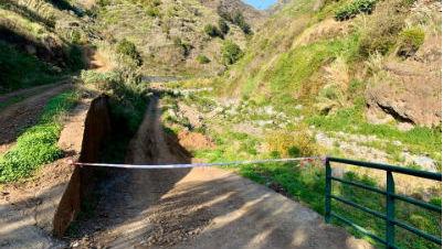 Alerta | encerrado caminho de acesso à Ribeira da Ponta do Sol