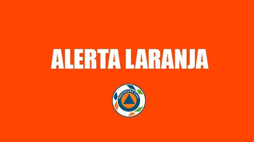 Aviso à população | aviso laranja para o arquipélago da Madeira