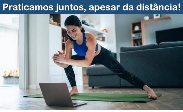 Aulas online gratuitas - ginástica para todos na Ponta do Sol