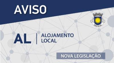 AL - Alojamento Local: NOVA Legislação